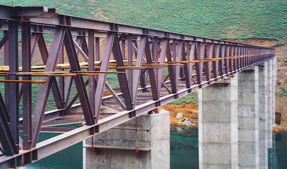 Bridge, Katse Dam, Lesotho