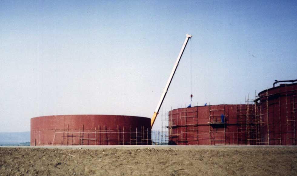 Molasses Storage Tanks