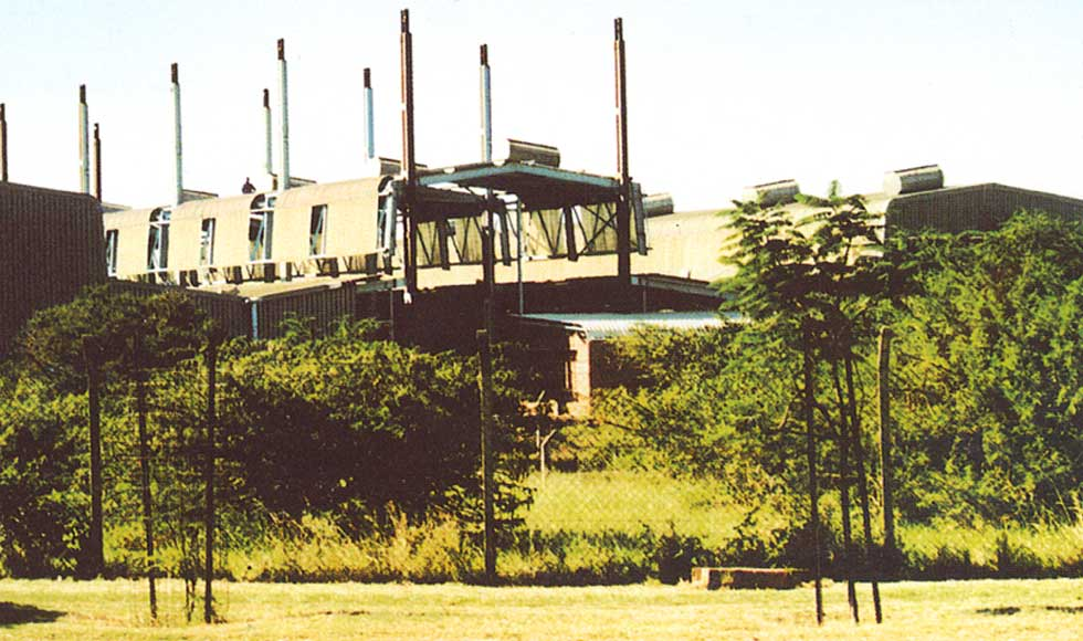 Roof-Jacking Factory, Isithebe, KZN